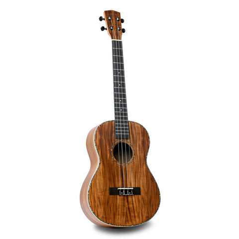 ISUZI EAK-B Asian Koa Baritone Ukulele inc Gig Bag - Freebirdmusic