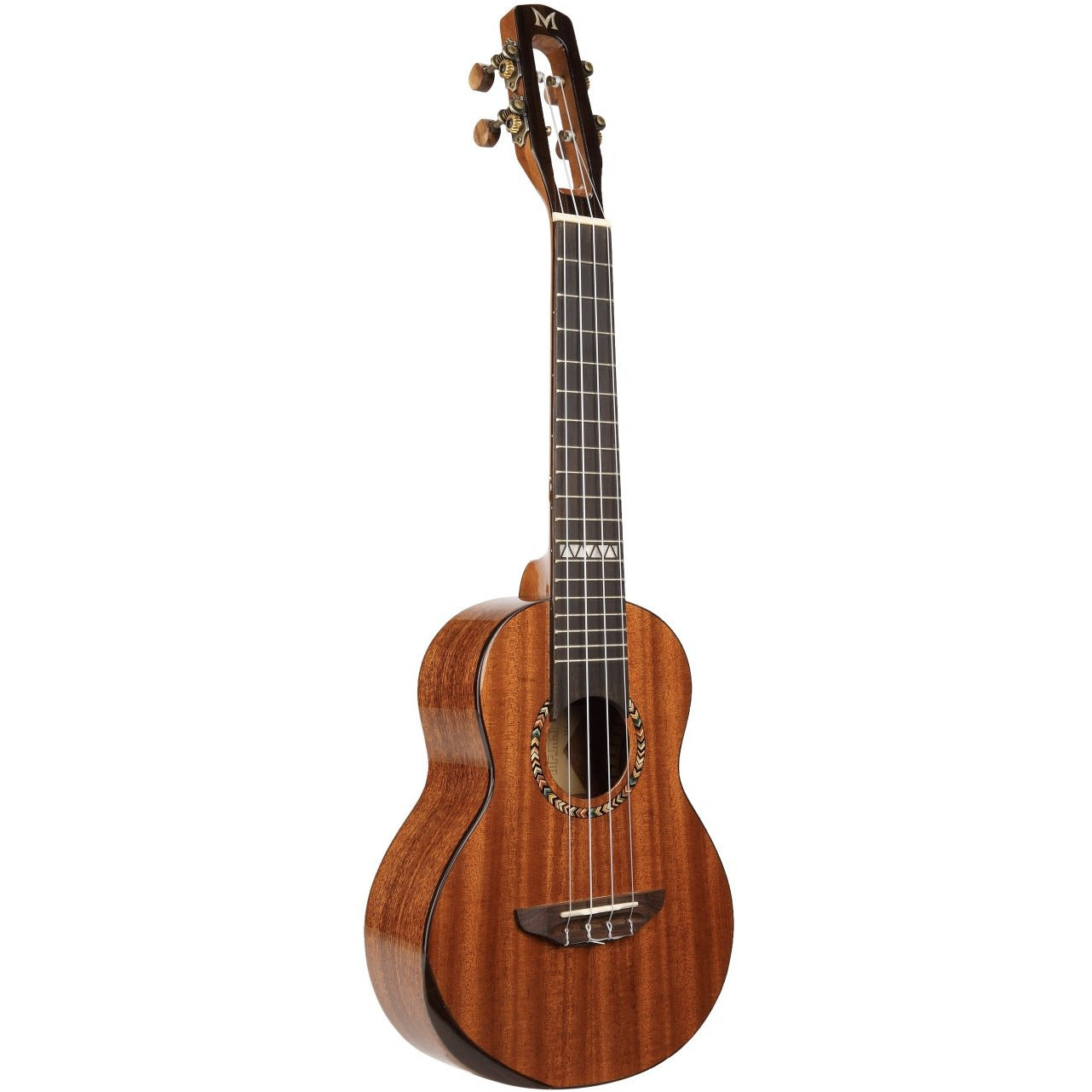 Mr Mai M-A80 All Solid Mahogany Concert Ukulele inc Hard Case - Freebirdmusic