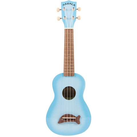 Makala MK-SD/LBL Light Blue Dolphin Soprano Ukulele - Freebirdmusic