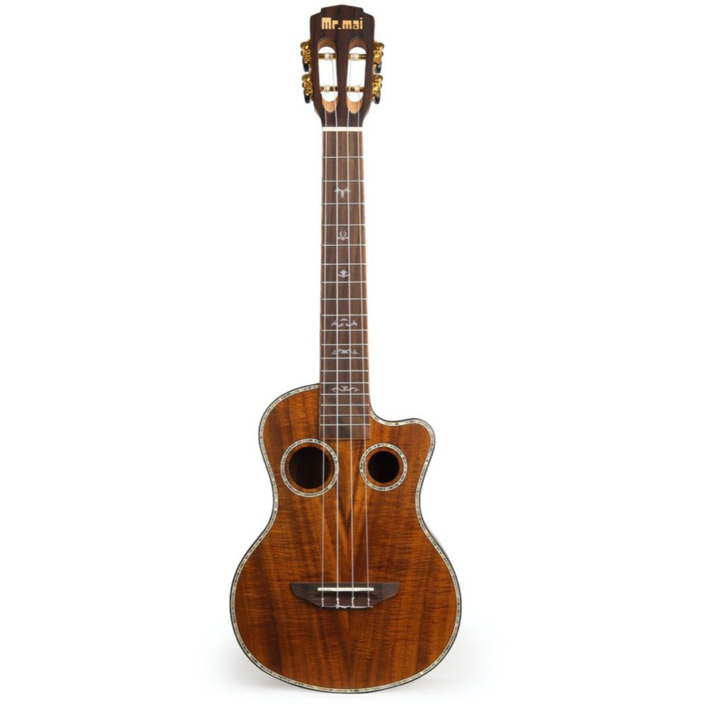 Mr Mai ML-T Acacia Tenor Ukulele inc Hard Case - Freebirdmusic