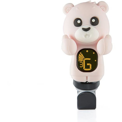 Swiff KAI Bear Chromatic Ukulele Tuner (Pink, Grey) - Freebirdmusic