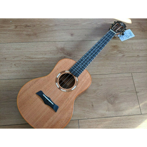 Snail S10T All Solid Mahogany Tenor Ukulele inc Free Snail Gig Bag - Freebirdmusic