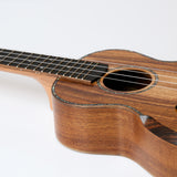 Snail SR-05CE Solid Top Acacia Bevelled Edge Concert Ukulele - Freebirdmusic
