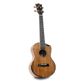 Snail SR-04TE All Solid Acacia Bevelled Edge Tenor Ukulele - Freebirdmusic
