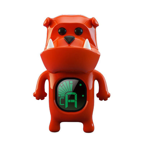 Swiff B71 Red 'Bulldog' Chromatic Ukulele Tuner - Freebirdmusic