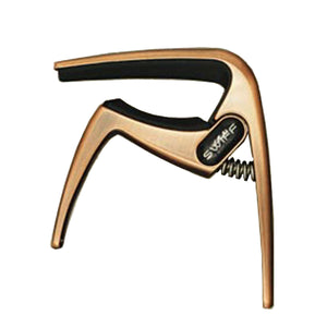 Swiff K8 Zinc Alloy Guitar Capo (Brush Copper) - Freebirdmusic