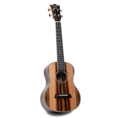 Snail UKT-E598 Ebony Tenor Ukulele - Freebirdmusic