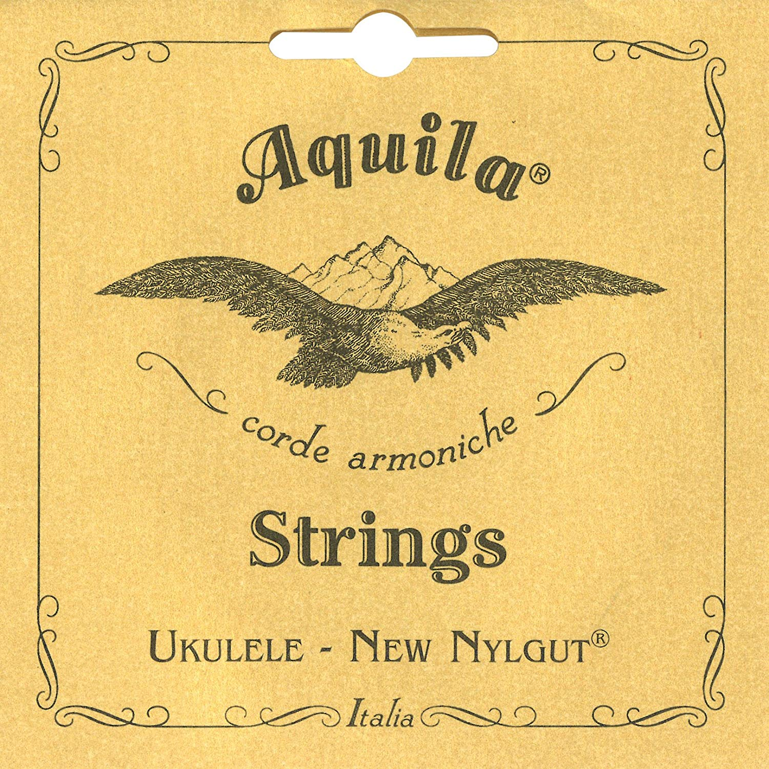 AQUILA Soprano Ukulele Strings GCEA Regular C-Tuning - Freebirdmusic