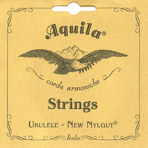 AQUILA Tenor Ukulele Strings 10U Nyglut GCEA Regular C-Tuning - Freebirdmusic