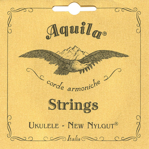 AQUILA Soprano Ukulele Strings 4U Nyglut GCEA Regular C-Tuning - Freebirdmusic