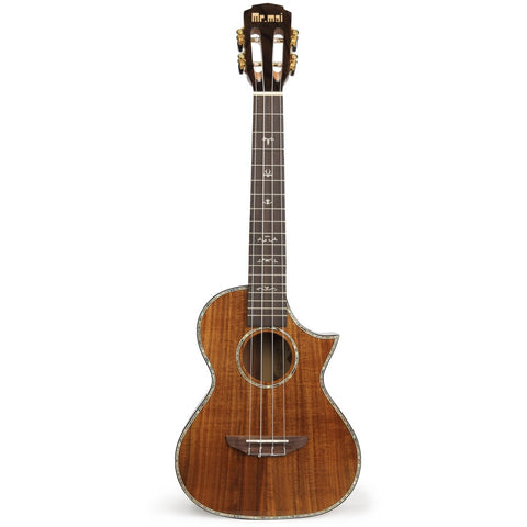 Mr Mai M-C30 All Solid Koa Tenor Ukulele inc Hard Case - Freebirdmusic