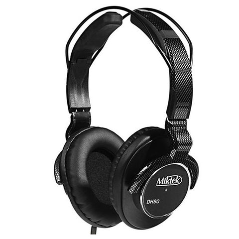 Miktek DH90 Closed-Back Studio Monitoring Headphones - Freebirdmusic