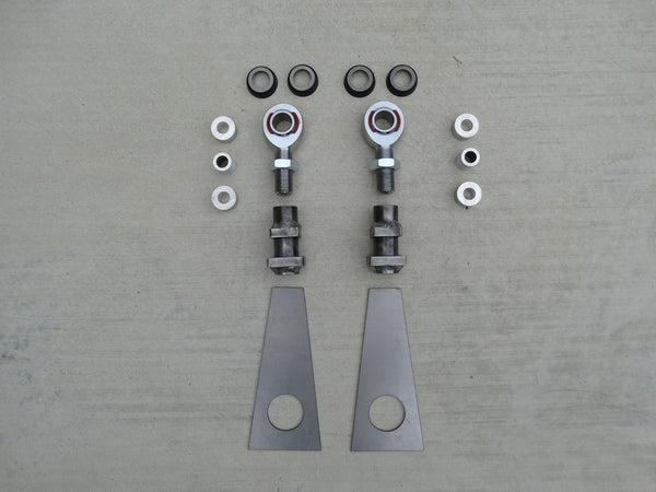 1965-1966 Mustang Do-It-Yourself Heavy Duty Adjustable Lower Control Arm Kit, LCA-DIY-1001