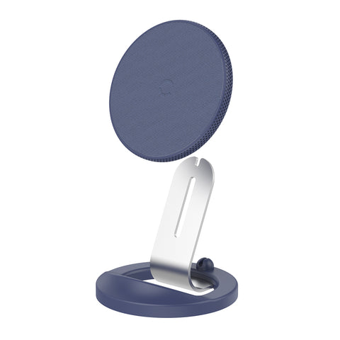 15W Wireless Charger - Navy - UK