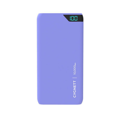 10,000 mAh Power Bank - Lilac - Cygnett (AU)