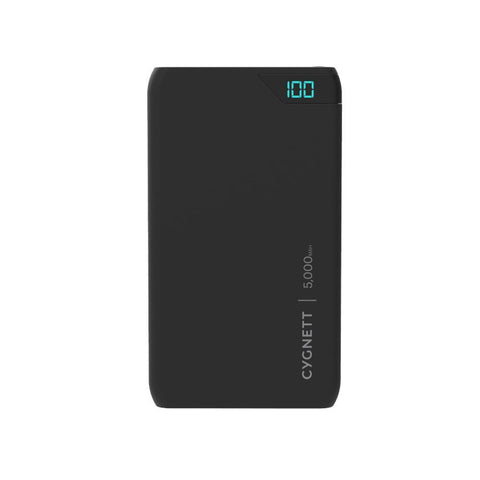 5,000mAh Power Bank - Black - Cygnett (AU)