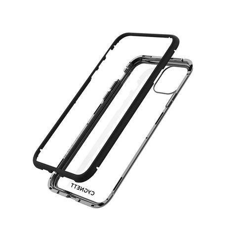 iPhone 12 & 12 Pro Magnetic Glass Case - Black - Cygnett (AU)