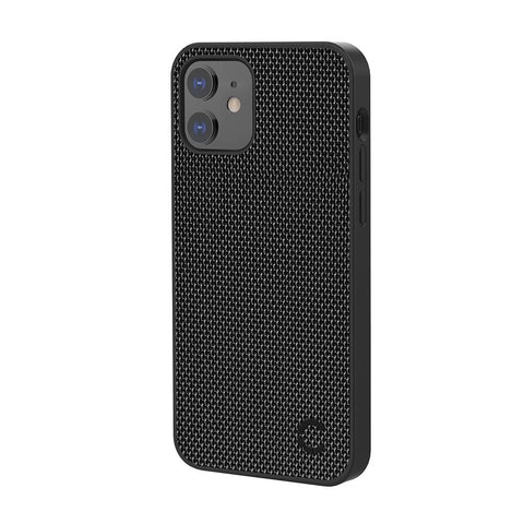 iPhone 12 Mini Slim Fabric Case  - Black - Cygnett (AU)