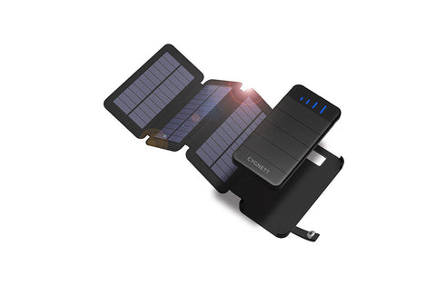 8,000mAh Power Bank with Solar Panels