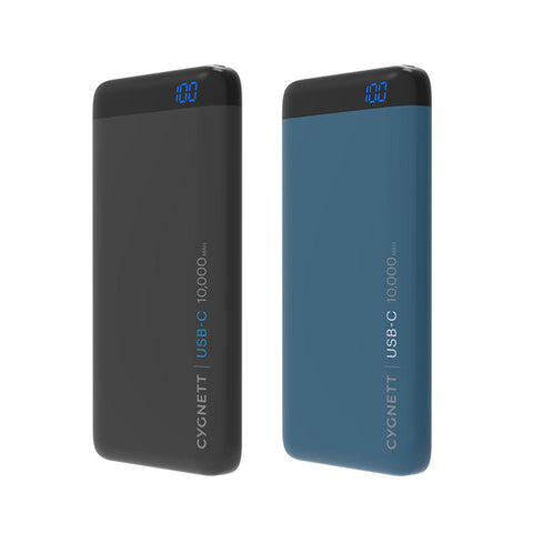 10,000mAh USB-C Power Bank in Teal - Cygnett (AU)