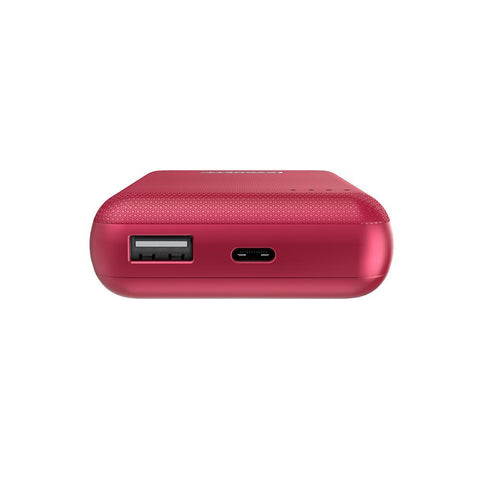 10,000 mAh 18W Power Bank - Red