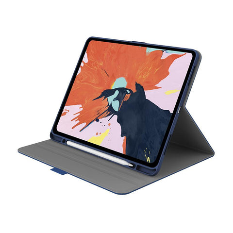 "iPad Pro 12.9"" Case in Navy with Apple Pencil Holder - Cygnett (AU)"