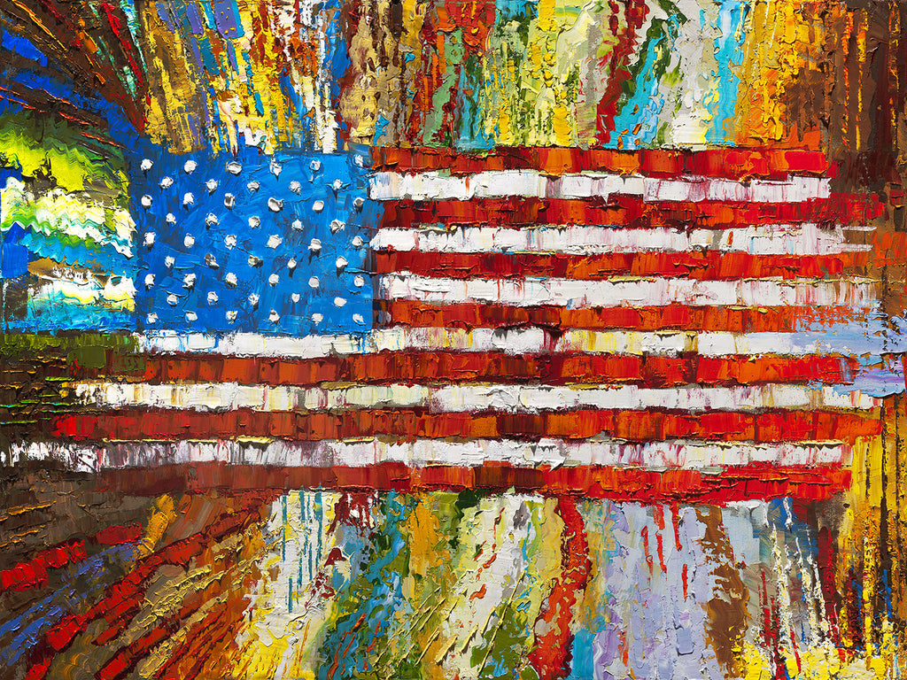 "Archival Print on Canvas of ""Made in America""  047"