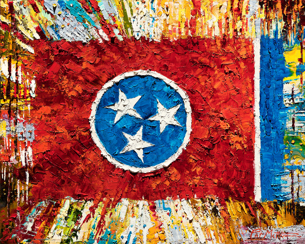 """Tennessee Colors"" archival giclee print on canvas 24"" x 30"" includes #084 FREE SHIPPING"