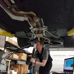 Self Installing High performance Exhaust Systems