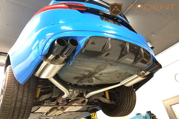 Jaguar XFR-S 5.0 Valved Rear Mufflers