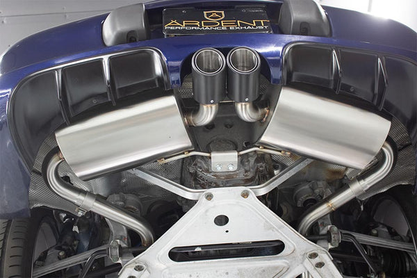 Porsche 986 Boxster Rear Performance Exhaust System