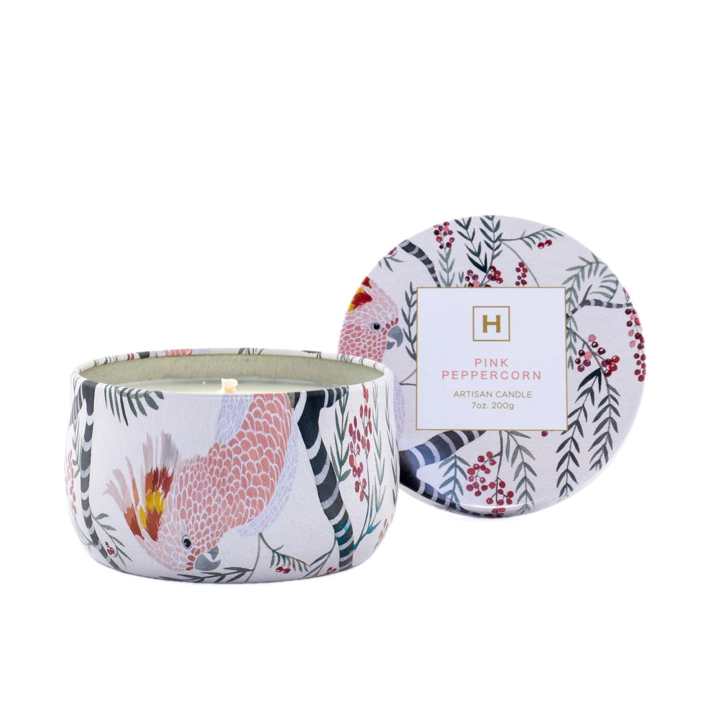 Soy Candle Tin - Pink Peppercorn - HAVANA HOME