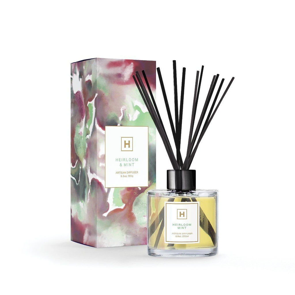 Reed Diffuser - Heirloom Mint - HAVANA HOME