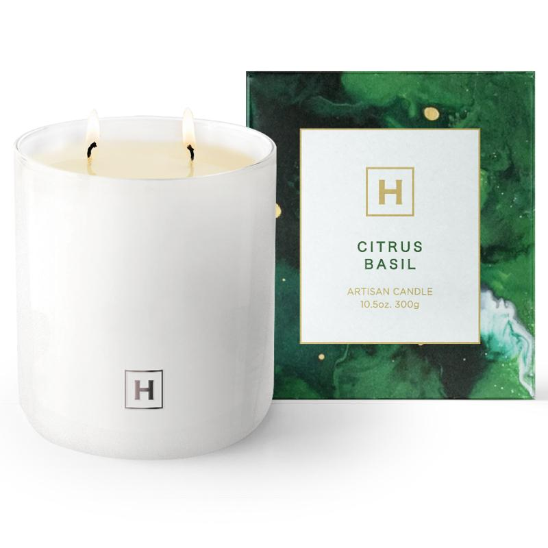 Soy Candle 300g - Citrus Basil - HAVANA HOME