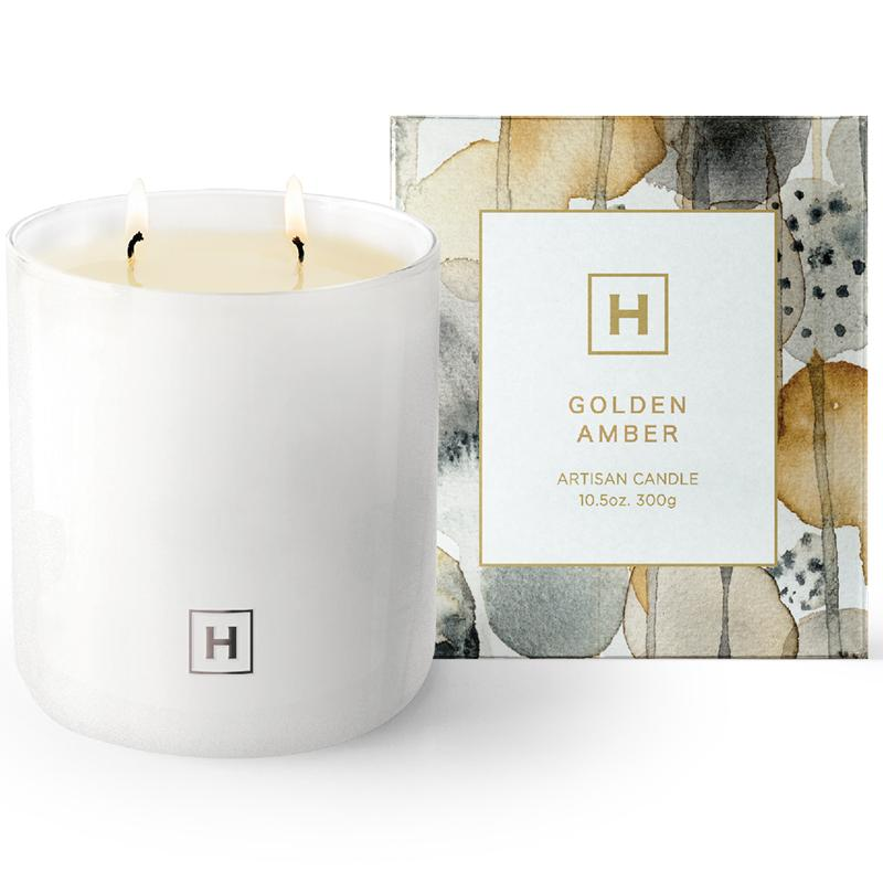 Soy Candle 300g - Golden Amber - HAVANA HOME