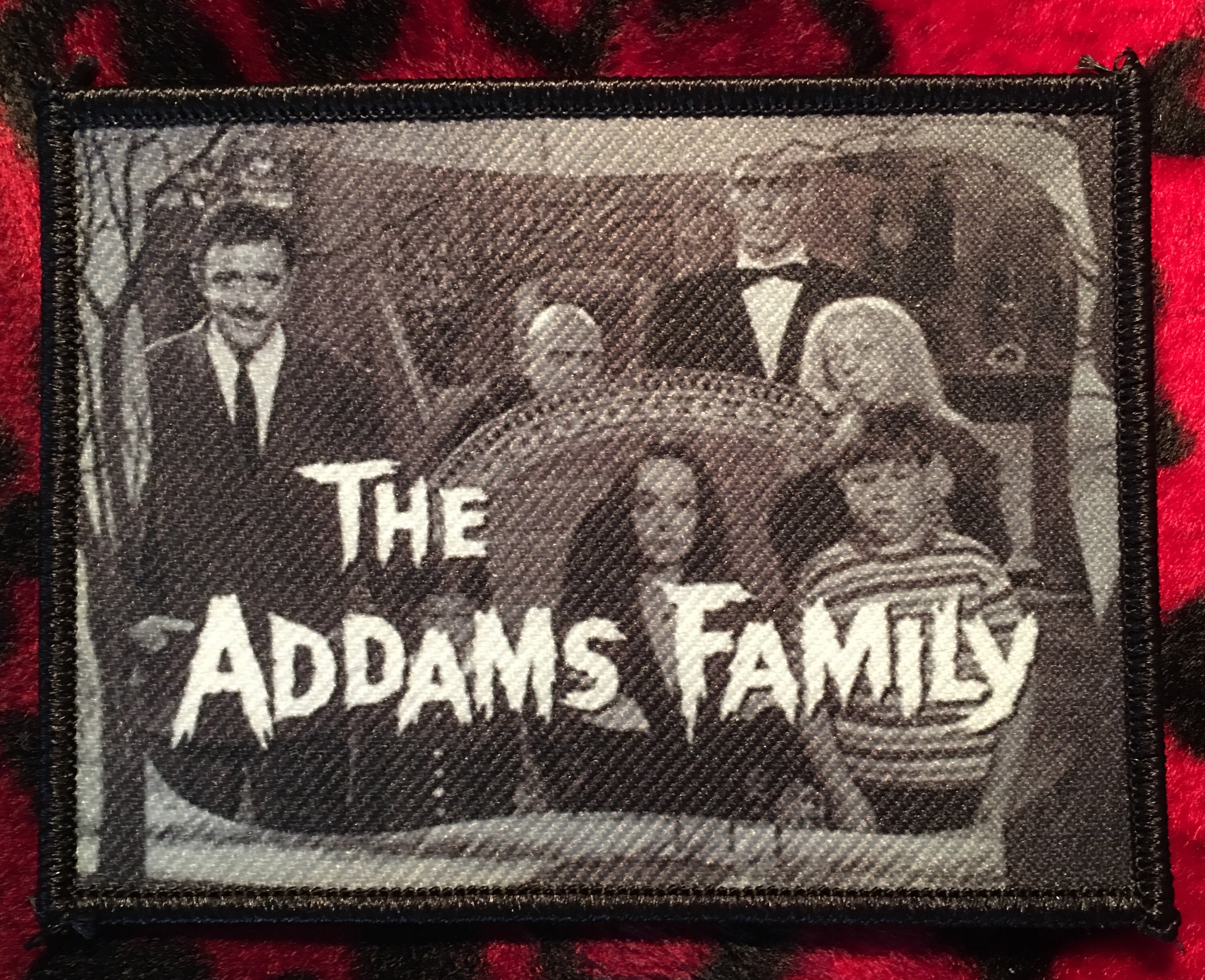 Addam's Family Horizontal Patch