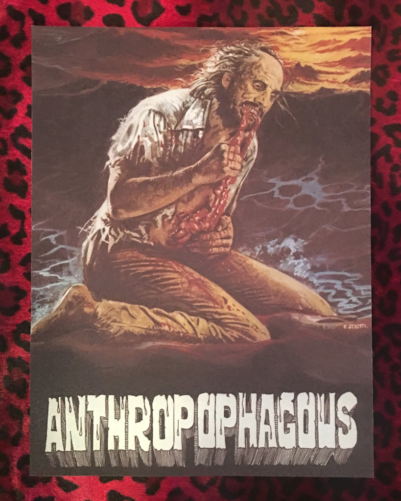 Anthropophagous Back Patch