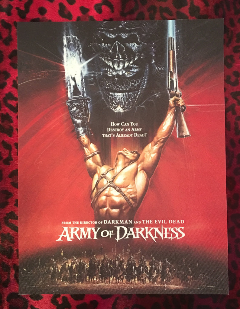 Army of Darkness Back Patch