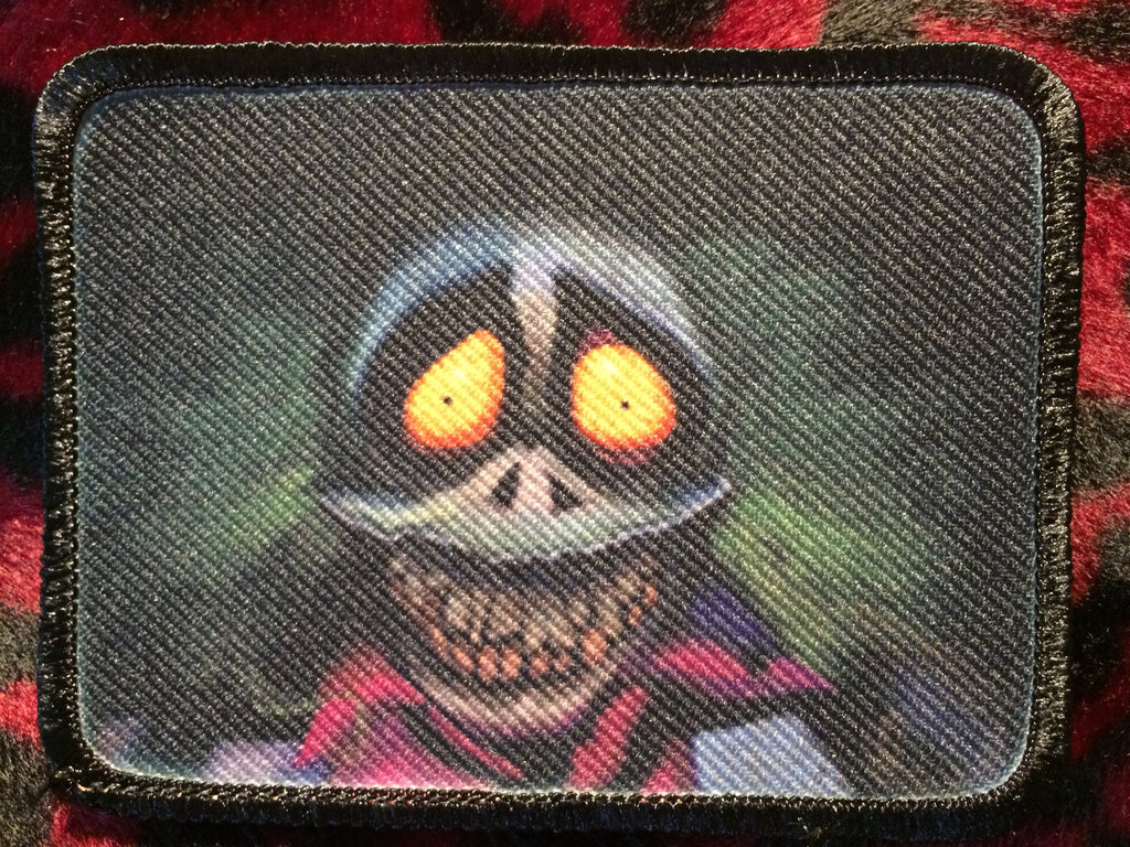 Beetlejuice Cartoon Style B Patch