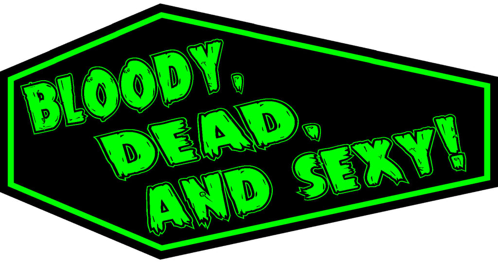 Bloody, Dead, and Sexy! Coffin Patch