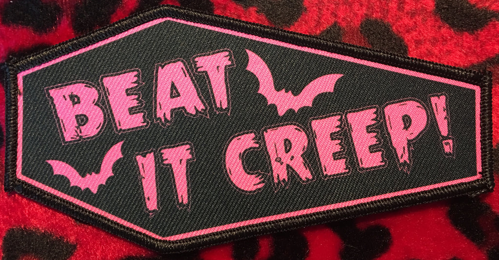 Beat It Creep! Coffin Patch