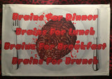 Brains Kitchen Table Placemats