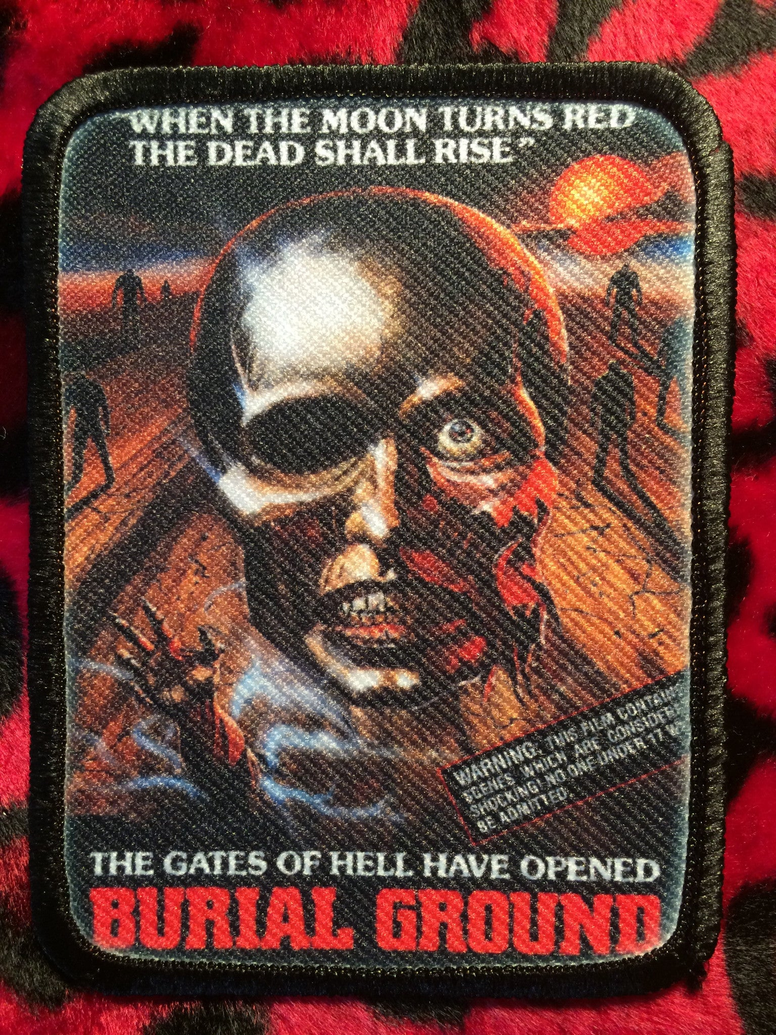 Burial Ground Patch