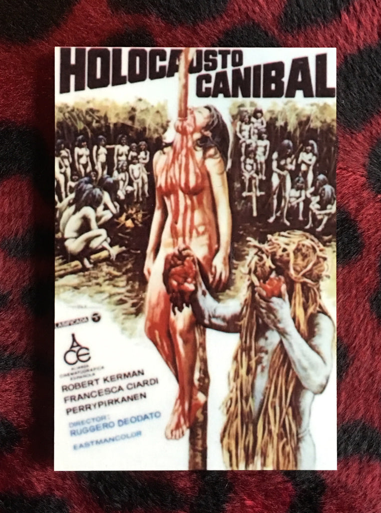 Cannibal Holocaust Magnet