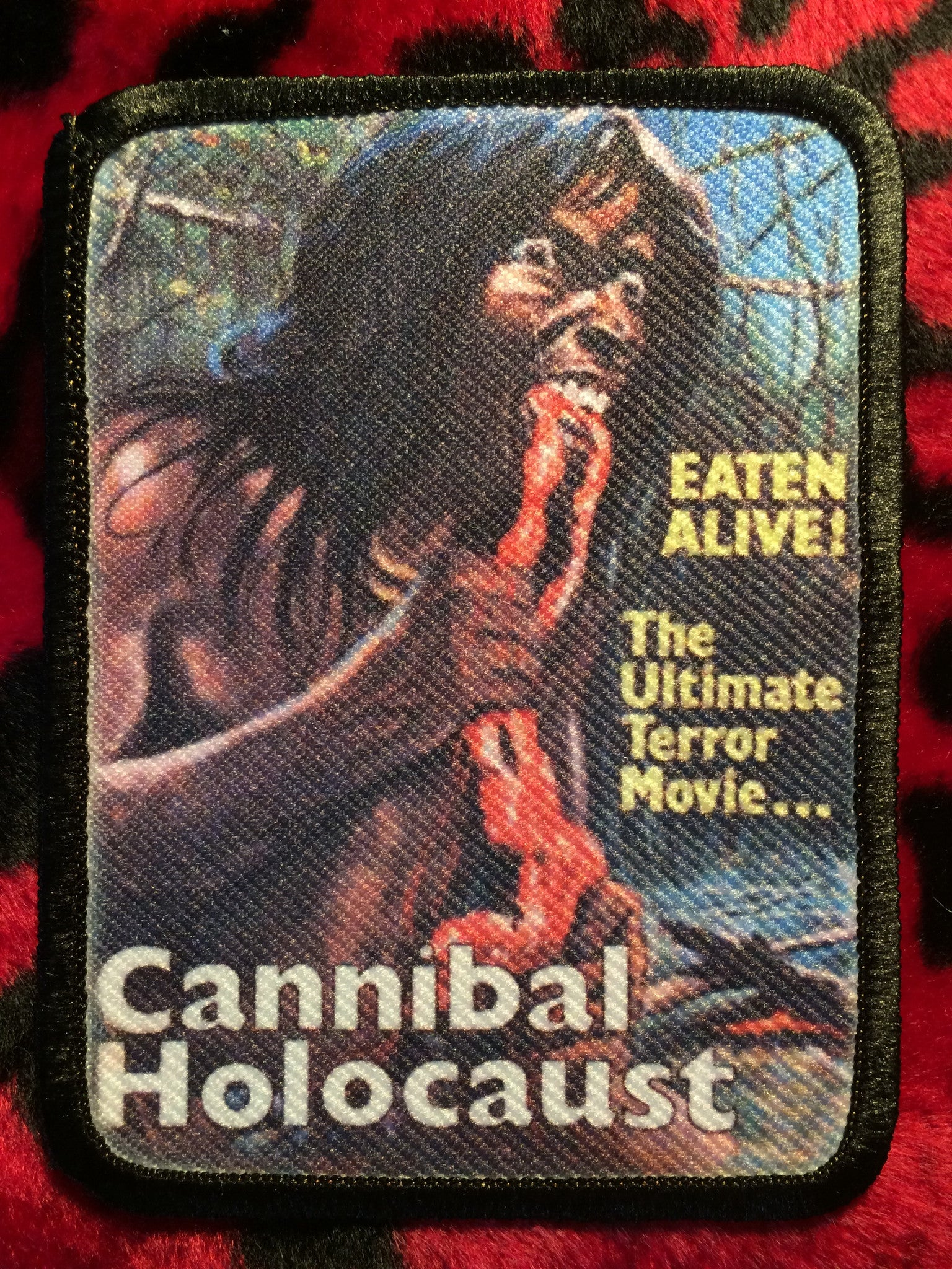 Cannibal Holocaust Style B Patch