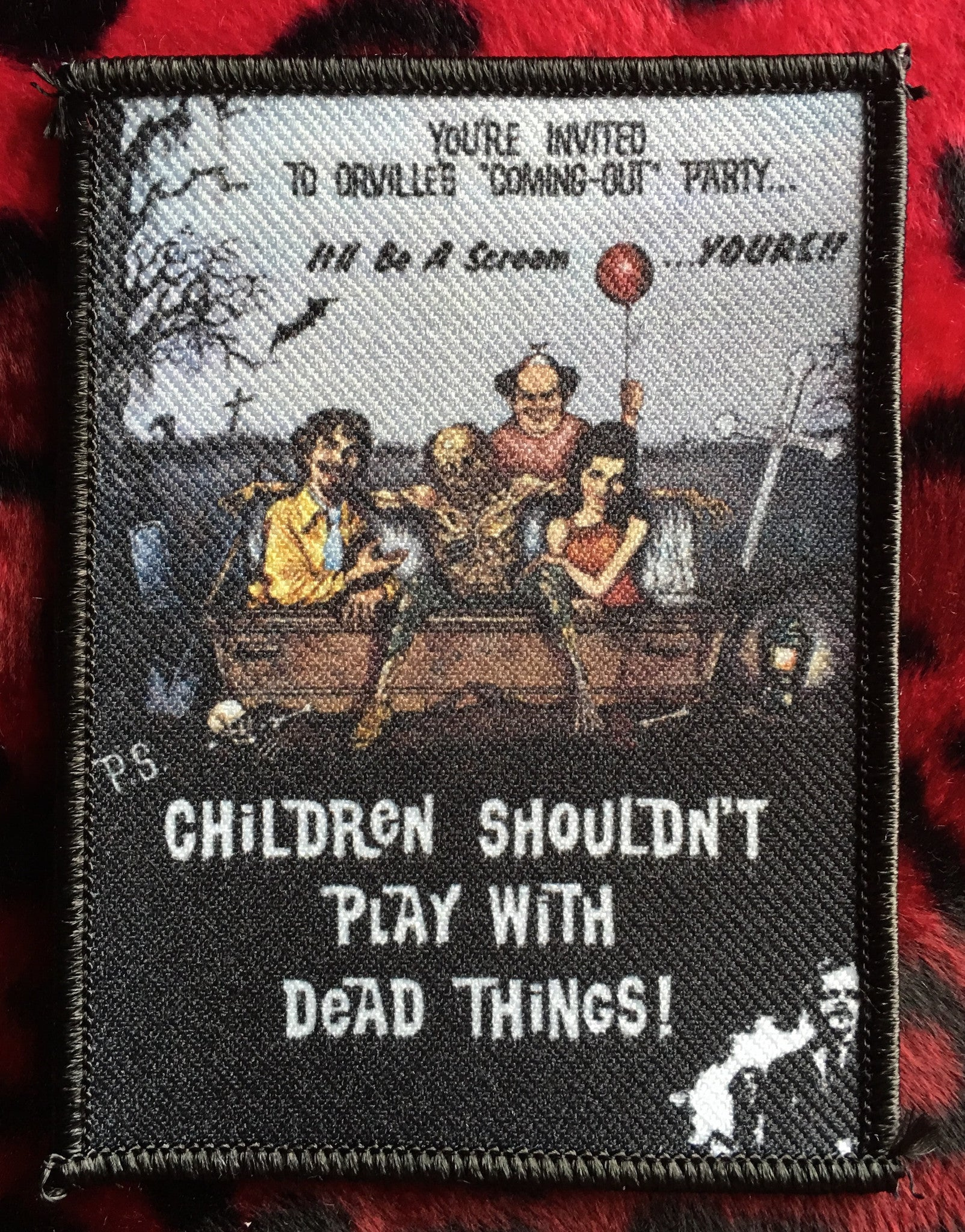 Children Shouldn't Play With Dead Things Patch