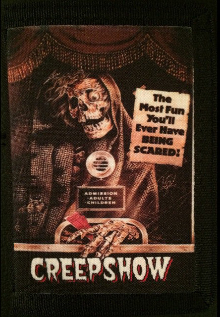 Creepshow Canvas Wallet