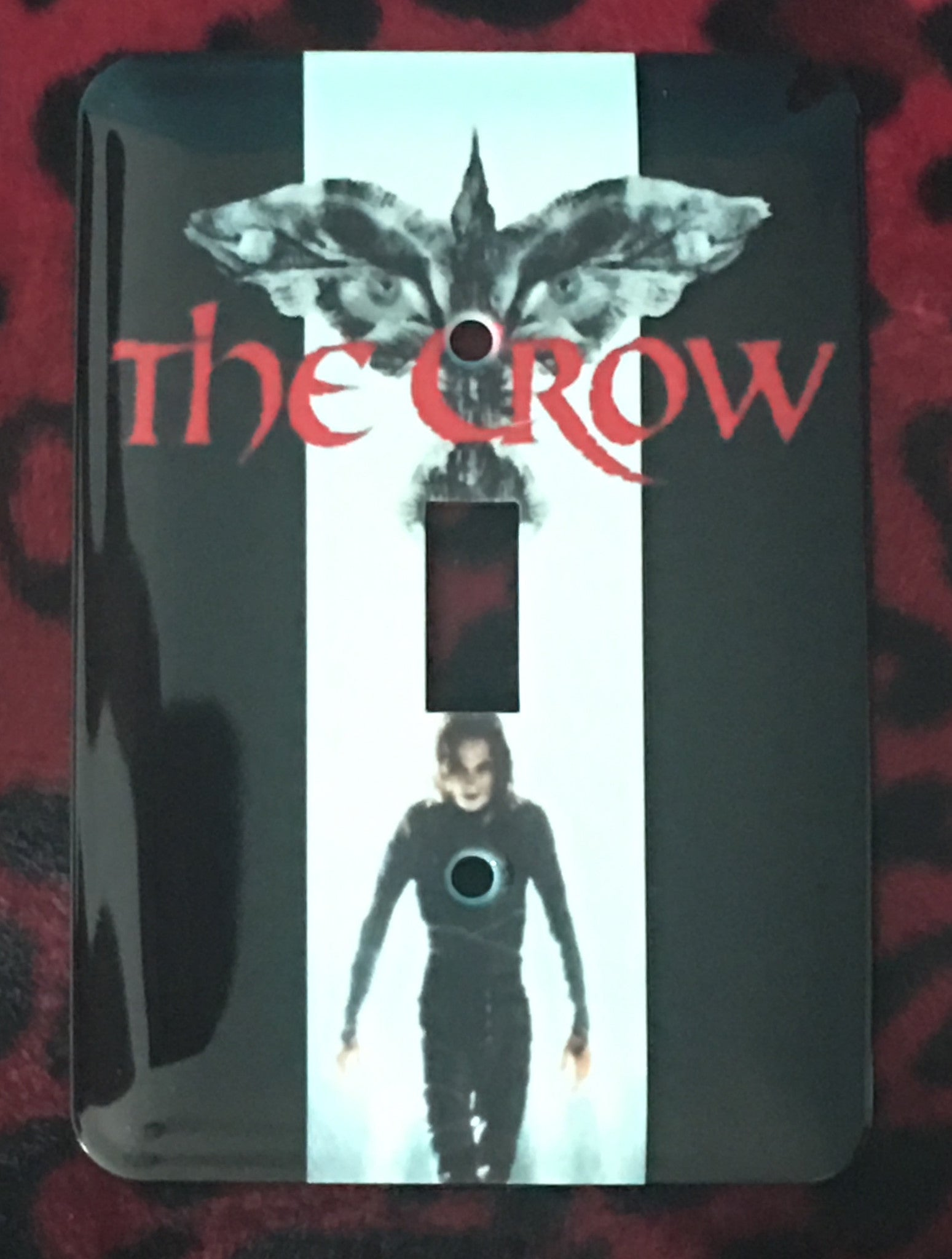 The Crow Single Light Switch Cover