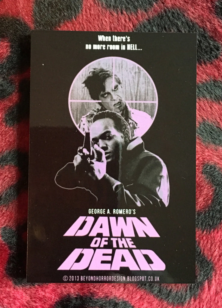 Dawn of the Dead Style A Magnet