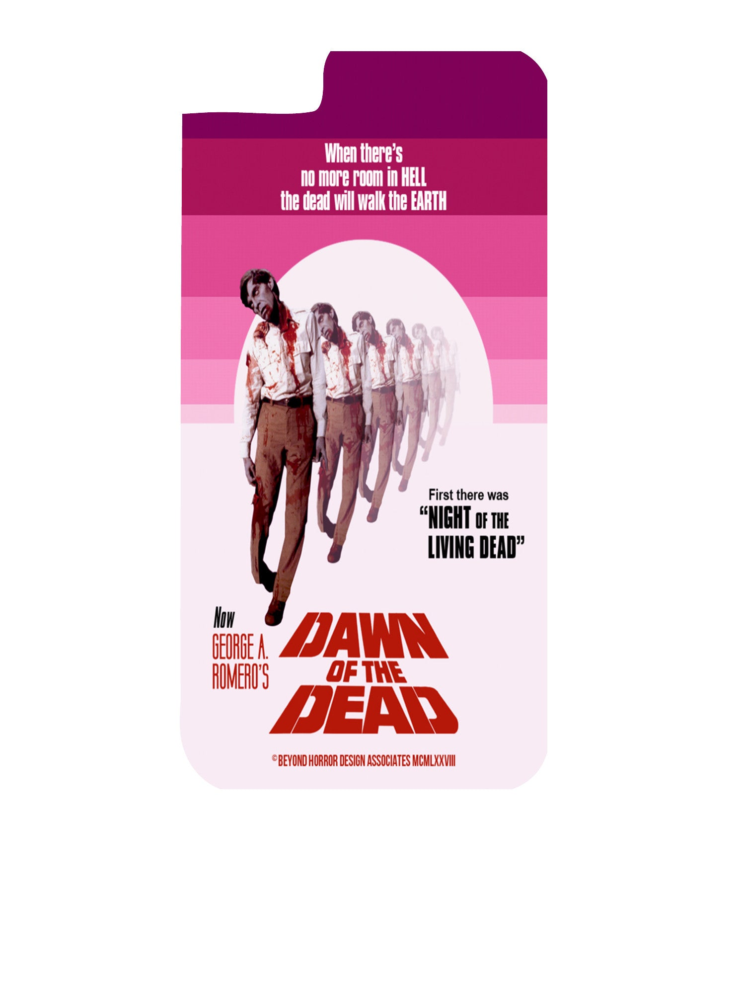 Dawn of the Dead Style B iPhone 5C Case